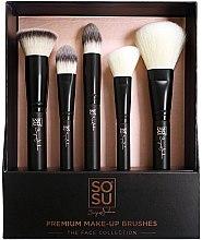 Parfumuri și produse cosmetice Set pensule pentru machiaj - Sosu by SJ Premium Makeup Brushes (5 buc.)