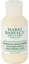Parfumuri și produse cosmetice Hidratant facial cu acid hialuronic - Mario Badescu Hydrating Moisturizer With Biocare & Hyaluronic Acid