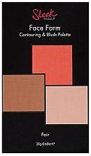 Parfumuri și produse cosmetice Paletă contouring pentru față - Sleek Makeup Face Form Ultimate Contour Kit Fair