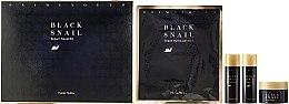 Set - Holika Holika Prime Youth Black Snail Skin Care Kit (mask + cr/18ml + tonic/31g + emulsion/31ml) — Imagine N1