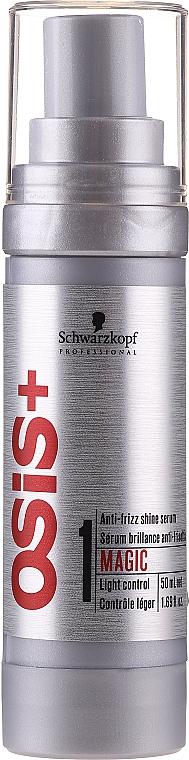 Ser pentru strălucirea părului - Schwarzkopf Professional Osis+ Magic Anti-Frizz Shine Serum