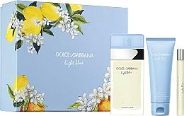 Parfumuri și produse cosmetice Dolce&Gabbana Light Blue - Set (edt/100ml + b/cr/75ml + edt/10ml)