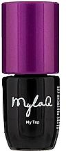 Parfumuri și produse cosmetice Top coat pentru gel-lac - MylaQ My Top