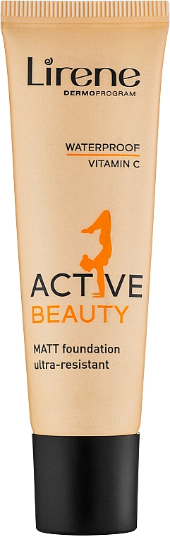 Fond de ten - Lirene Active Beauty Matt Foundation Ultra-Resistant