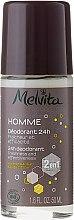 Parfumuri și produse cosmetice Deodorant - Melvita Homme 24H Deodorant