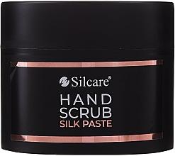 Parfumuri și produse cosmetice Pastă-scrub pentru mâini - Silcare Hand Scrub Silk Paste (mini)