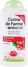 """Parfumuri și produse cosmetice Gel de duș """"Afine"""" - Corine De Farme Shower Cream"""
