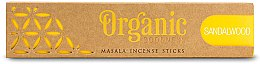 Parfumuri și produse cosmetice Bețișoare aromatice - Song Of India Organic Goodness Sandalwood