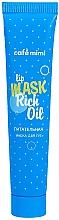 Parfumuri și produse cosmetice Mască hidratantă pentru buze - Cafe Mimi Lip Mask Rich Oil