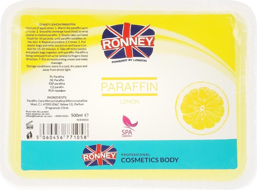 """Parafină """"Lămâie"""" - Ronney Professional Paraffin Lemon"""