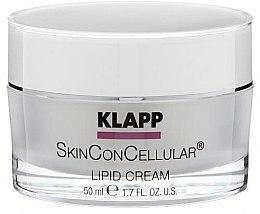 Parfumuri și produse cosmetice Cremă nutritivă pentru față - Klapp Skin Con Cellular Lipid Cream