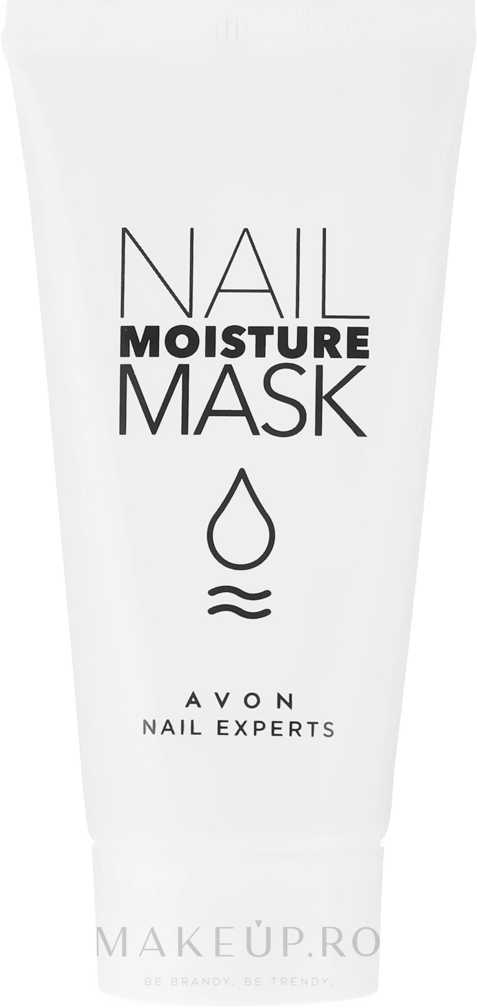 Mască regenerantă pentru mâini, unghii și cuticule - Avon Nail Moisture Mask Nail Experts — Imagine 30 ml