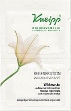 Parfumuri și produse cosmetice Ser intensiv regenerant pentru față - Kneipp Regeneration Durch Naturkraft Wirkmaske