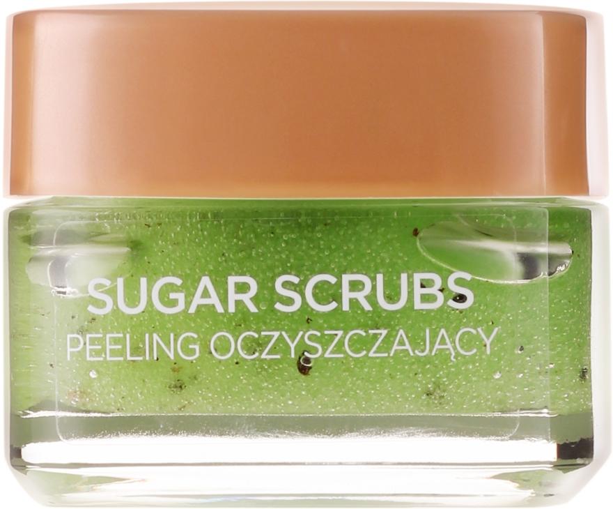 Scrub exfoliant cu zahar pentru ten - L'Oreal Paris Sugar Scrubs — Imagine N2