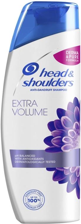 """Șampon anti-mătreață """"Volum de la rădăcini"""" - Head & Shoulders Extra Volume — Imagine N1"""