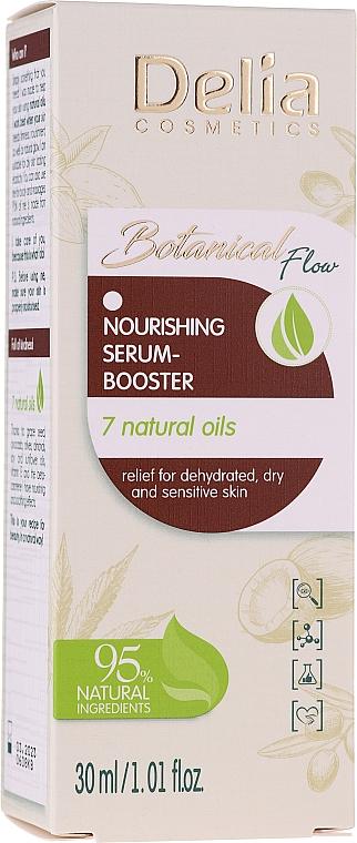 Ser- booster nutritiv, 7 uleiuri naturale - Delia Botanical Flow Nourishing Serum-booster 7 Natural Oils