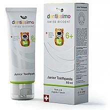 Parfumuri și produse cosmetice Pastă de dinți pentru copii - Dentissimo Junior Toothpaste Apple