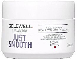 Parfumuri și produse cosmetice Îngrijire intensivă pentru părul neascultător - Goldwell Dualsenses Just Smooth 60sec Treatment