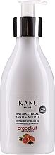 """Parfumuri și produse cosmetice Gel antibacterian """"Grapefruit cu guarana"""" - Kanu Nature Antibacterial Hand Sanitizer"""