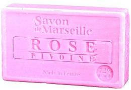"Parfumuri și produse cosmetice Săpun natural ""Trandafir și bujor"" - Le Chatelard 1802 Soap Rose & Peony"