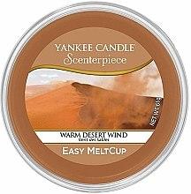 Parfumuri și produse cosmetice Ceară aromată - Yankee Candle Warm Desert Wind Scenterpiece Melt Cup