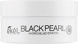 Parfumuri și produse cosmetice Patch-uri hidrogel cu perlă neagră - Ekel Ample Hydrogel Eyepatch