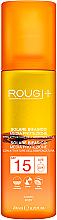 Parfumuri și produse cosmetice Loțiune bifazică pentru bronzare SPF 15 - Rougj+ Two-Phase Sun Lotion Medium Protection With Tanning Activator SPF 15