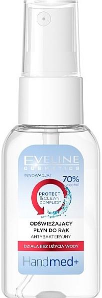 Spray antibacterian pentru mâini - Eveline Cosmetics Handmed+