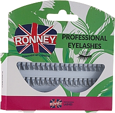 Parfumuri și produse cosmetice Set gene false, 10,12,14 mm - Ronney Professional Eyelashes 00034