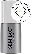 Parfumuri și produse cosmetice Bază 2 în 1 pentru gel-lac - Semilac Base/Top 2in1