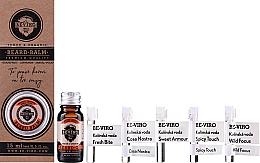 Parfumuri și produse cosmetice Set - Beviro Grapefruit Cinnamon Sandal Wood (b/oil/10ml + b/balm/15ml + edc/5x1ml)
