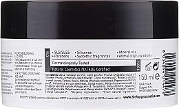 Mască-scrub pentru păr - Bio Happy Carbon Black & White Clay Scrub Mask — Imagine N2