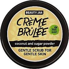 """Parfumuri și produse cosmetice Scrub pentru față """"Creme brulee"""" - Beauty Jar Gentle Scrub For Gentle Skin"""