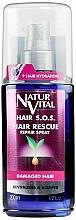 Parfumuri și produse cosmetice Spray împotriva căderii părului și ruperii - Natur Vital Hair Rescue Repair Spray