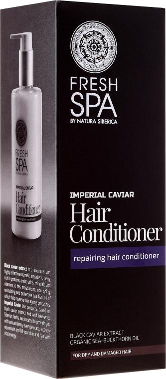 Balsam revitalizant pentru păr uscat și deteriorat - Natura Siberica Fresh Spa Imperial Caviar Conditioner — Imagine N1