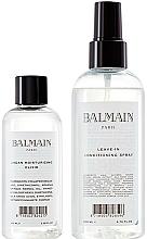 Parfumuri și produse cosmetice Set - Balmain Paris Hair Couture Signature Foundation ( h/spray/200ml + h/elixir/100ml)