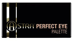 Parfumuri și produse cosmetice Paletă farduri de ochi - Astra Make-up Perfect Eye Palette