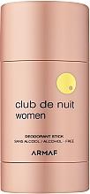 Parfumuri și produse cosmetice Armaf Club De Nuit - Deodorant stick