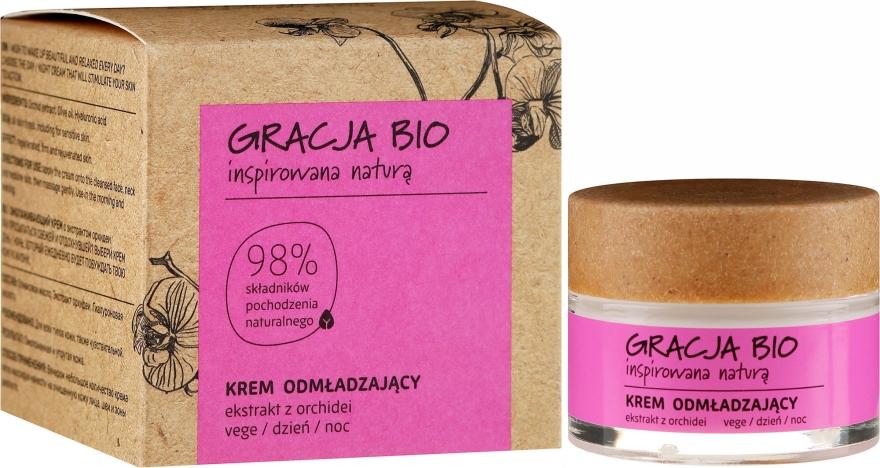 Cremă cu extract de orhidee pentru față - Gracja Bio Face Cream