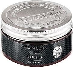 Parfumuri și produse cosmetice Balsam cu efect matifiant pentru barbă și față - Organique Pour Homme Beard Balm Matte Effect