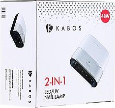 Lampă LED pentru manichiură - Kabos 2 in1 UV/LED Sun 3S — Imagine N3