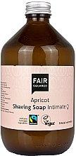 Parfumuri și produse cosmetice Săpun de ras - Fair Squared Apricot Shaving Soap Intimate