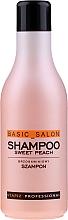 """Parfumuri și produse cosmetice Șampon """"Piersic"""" - Stapiz Basic Salon Shampoo Sweet Peach"""