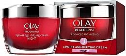 Parfumuri și produse cosmetice Cremă anti-îmbătrânire de noapte pentru față - Olay Regenerist 3 Point Age-Defying Cream Night