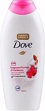 """Parfumuri și produse cosmetice Cremă-gel de duș """"Lapte de migdale și hibiscus"""" - Dove Almond Cream And Hibiscus Flower Shower Gel"""