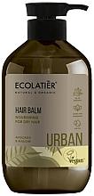"""Parfumuri și produse cosmetice Balsam nutritiv pentru păr uscat """"Avocado și nalbă"""" - Ecolatier Urban Hair Balm"""