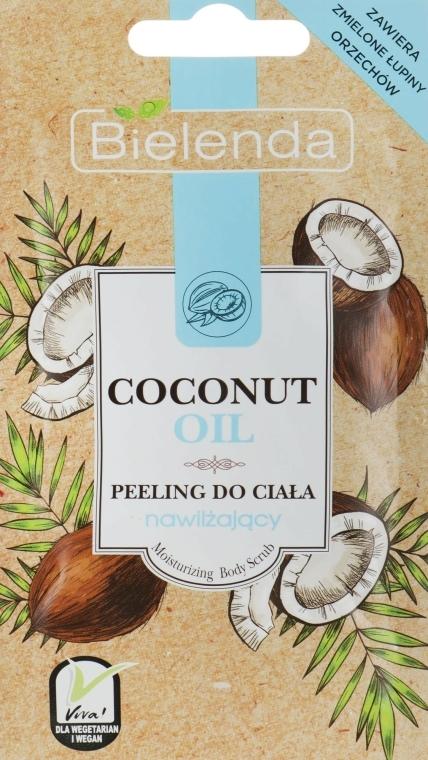 Peeling cu ulei de cocos pentru corp - Bielenda Coconut Oil Moisturizing Peeling — Imagine N1