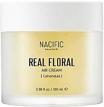 Parfumuri și produse cosmetice Cremă cu extract de calendulă pentru față - Nacific Real Floral Calendula Air Cream