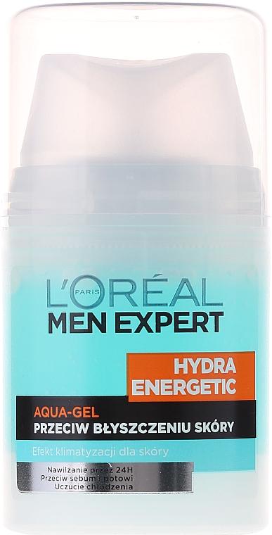 """Gel hidratant """"Efect glacial"""" - L'Oreal Paris Men Expert Hydra Energetic — Imagine N4"""