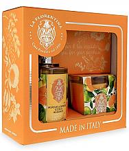 Parfumuri și produse cosmetice Set - La Florentina Bobli Citrus Set (soap/500ml + sc/candle/160g)